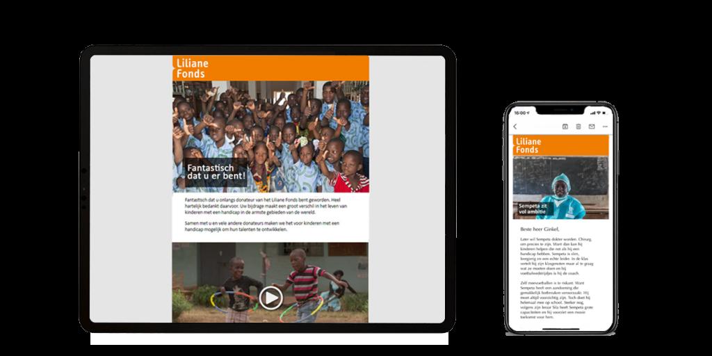 Liliane Fonds welkomstprogramma
